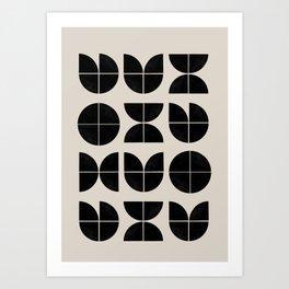 Bauhaus Style Art Art Print