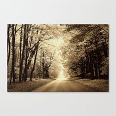 Secret Location  Canvas Print
