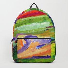 Green Landscape1 Backpack