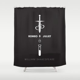 Romeo and Juliet Poster 01 Shower Curtain