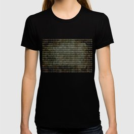 The Binary Code - Distressed textured version T-shirt