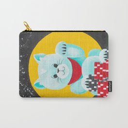 Lucky Poker Cat Carry-All Pouch