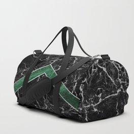 Arrows - Black Granite & Green Granite #269 Duffle Bag
