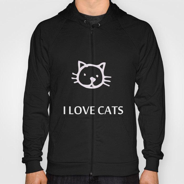 I LOVE CATS Hoody