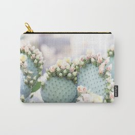 Spring Cactus Blossoms Carry-All Pouch