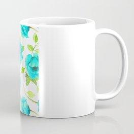 Aqua poppy Coffee Mug