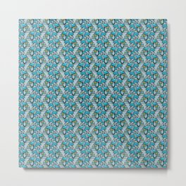 Escher Fish pattern I Metal Print