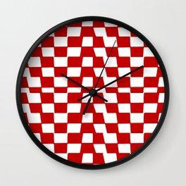 Keeping Tabs Wall Clock