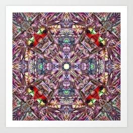 A Hydron Collider's Reactor Room Art Print