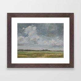 open sky 2 Framed Art Print
