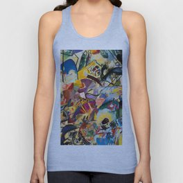 Kandinsky Collage Unisex Tank Top