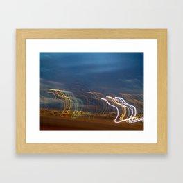 You Show the Lights Framed Art Print
