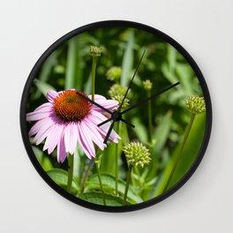 Flower Peddles Wall Clock