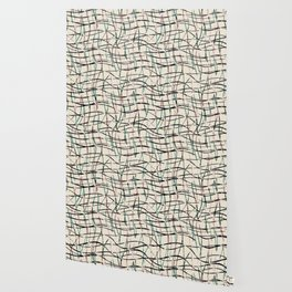 Abstract pattern. Thin vertical, horizontal lines. Wallpaper