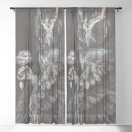 The Parity of Values Sheer Curtain