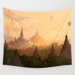 Bagan Myanmar Wall Tapestry