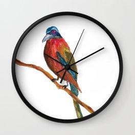 Study of a Bird 2 Wall Clock