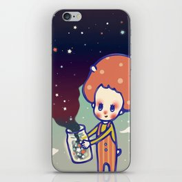 magic little star iPhone Skin