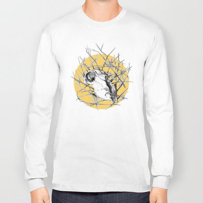 Skull Study #2 Long Sleeve T-shirt