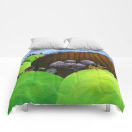 Hilly Humbly Comforters