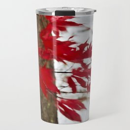 like a river of red Travel Mug