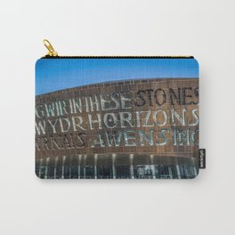 Truth like Glass Carry-All Pouch