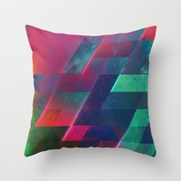 let it go Throw Pillows featuring let go by Spires