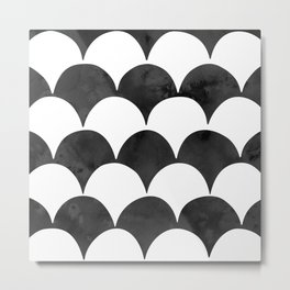 BUMPY - BLACK Metal Print