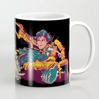 ripley Mugs featuring RIPLEY'S BITCH-BUSTER by BeastWreck