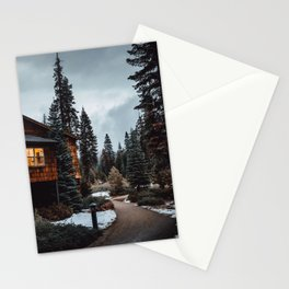 Wuksachi Lodge Sequoia National Park Stationery Cards