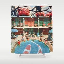 Hotel Koi Shower Curtain