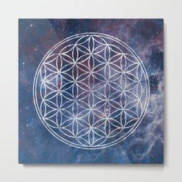 Sacred Geometry Universe 5 Metal Print