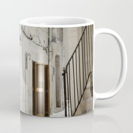 Laundry day in an alley in Italy Coffee Mug