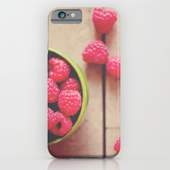 there is something in the red of a raspberry ...  iPhone & iPod Case