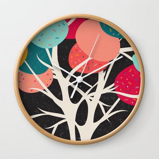 Lovely Tree Wall Clock