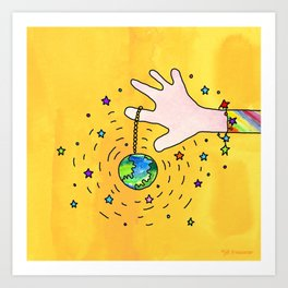 Change the World Art Print