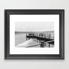Skewed Framed Art Print