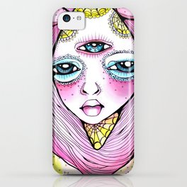 Mildred was Stuck Between Life and Death iPhone Case