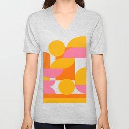 Shapes and Color 29 Unisex V-Neck