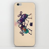 fight iPhone & iPod Skins featuring Fight by Tanya_tk