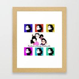 Audrey Tribute Framed Art Print