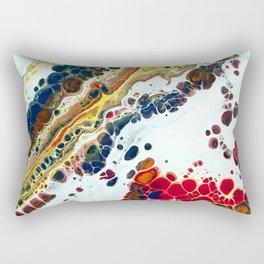 Primary Agate Slab Rectangular Pillow