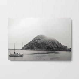 Morro Rock Metal Print