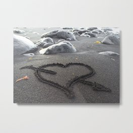 Romance Down the Shore Metal Print
