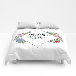 Go Take A Hike Floral Comforters