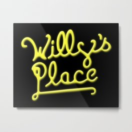 Willy's Place Metal Print