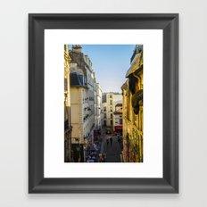 Montmartre series 3 Framed Art Print