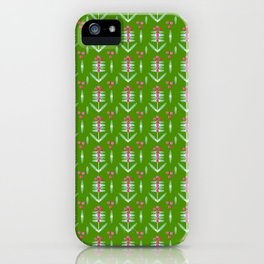 berry-pink pattern - By Matilda Lorentsson iPhone Case