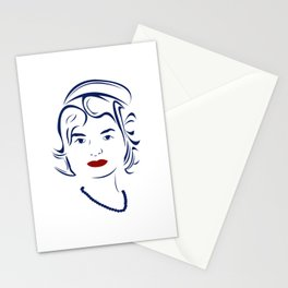 Jackie Kennedy - Hairography Jackie O Stationery Cards