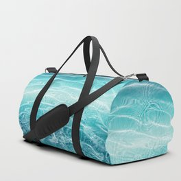 Blue Ocean Dream #1 #water #decor #art #society6 Duffle Bag